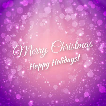 Merry Christmas.  Stock Vector - 23257649