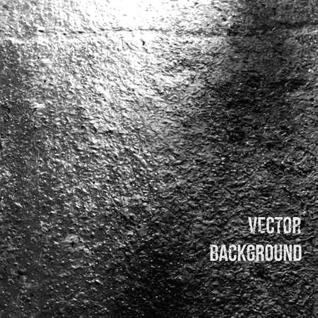 Asphalt as abstract background. Vector Illustration Illustration