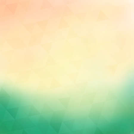 pastel: Colorful geometric background with triangles Illustration