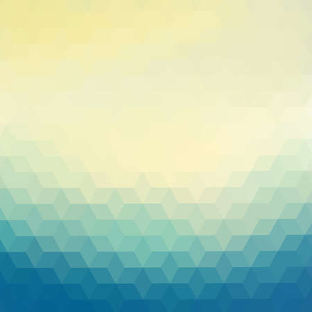 triangle pattern: Colorful geometric background with triangles Illustration