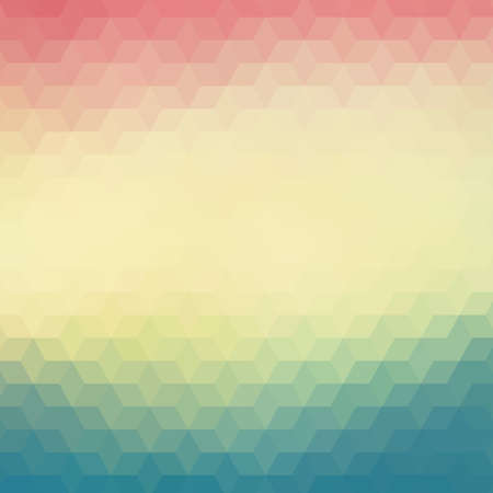 Colorful geometric background with triangles Illustration