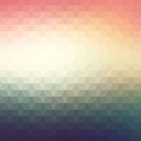 creative background: Colorful geometric background with triangles Illustration