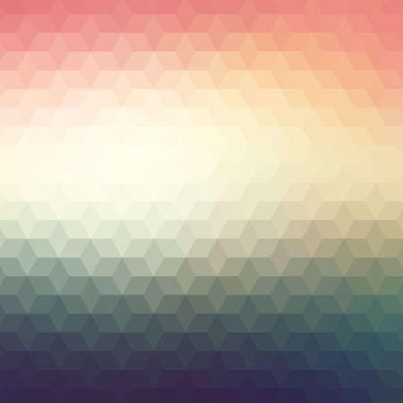 Fond géométrique coloré avec des triangles Banque d'images - 27532650