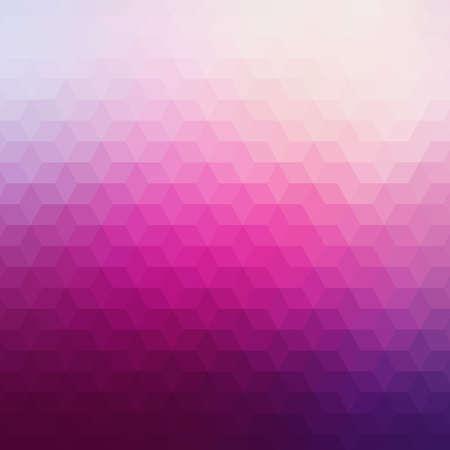 Kleurrijke geometrische achtergrond met driehoeken. Wazig mozaïek patroon