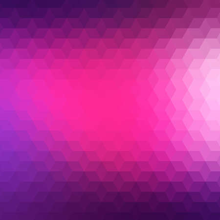 vivid colors: Colorful geometric background with triangles. Blurred mosaic pattern