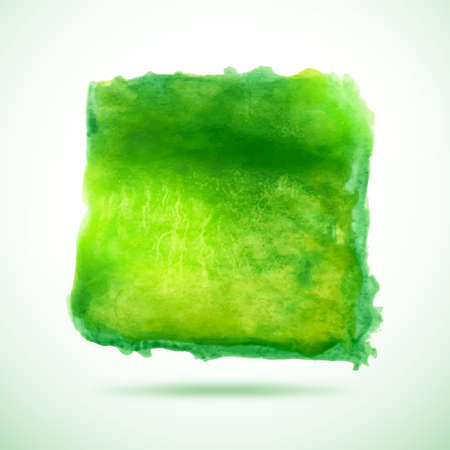 blob: Watercolor vector background. Abstract grunge blob