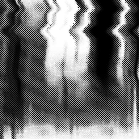 glitch: Glitch background. Black and white abstract vector background with glitch effect.