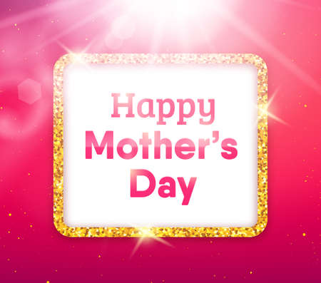 mammy: Happy Mothers Day typographic background.