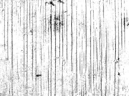 Houten plank textuur overlay. Droge verweerde houtstructuur. Close-up van oude rustieke barnwood textuur. Abstract grunge witte en zwarte achtergrond. vector illustratie Stock Illustratie