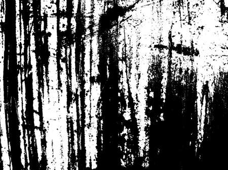 Scratched structuur overlay. Verontruste textuur. Zwart en wit gekleurde grunge achtergrond. Roesttextuur overlay. Abstracte achtergrond. vector illustratie Stock Illustratie