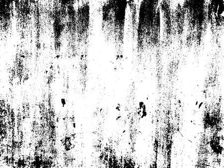 paint peeling: Distressed texture overlay. Aged peeling paint texture. Dirty wall texture. Abstract grunge white and black background. Vector illustration.