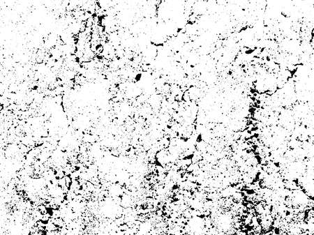 subtle: Gravel texture overlay. Subtle grain texture isolated on white background. Abstract grunge white and black background. Vector illustration.