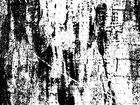 Dark grunge texture overlay. Aged paint texture. Dirty wall texture. Abstract grunge white and black background. Vector illustration. 向量圖像