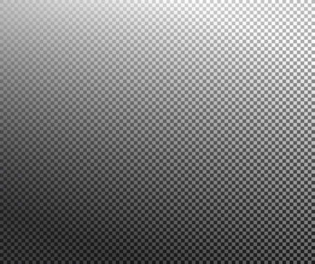 transparency: Transparency grid texture vector pattern with black and white gradient. Transparency grid background. Checkered background. Vector illustration