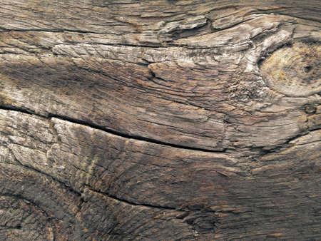 Alte Braune Holzplatte Oberflächenstruktur. Close Up Von Beschädigten  Holzboden Hintergrund. Standard Bild