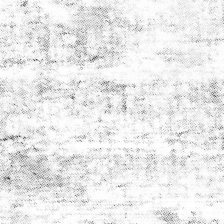 微妙なハーフトーン ベクトル テクスチャ オーバーレイ。モノクロ抽象飛び散った背景。
