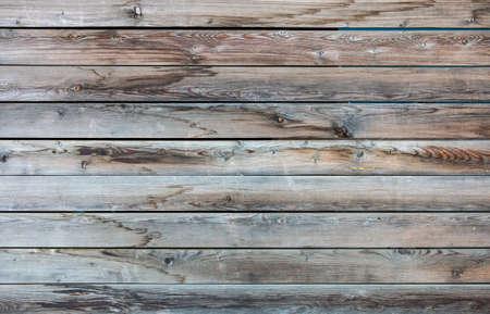 Wood texture closeup view. Vintage wooden floor background. Gray aged plank panels 免版税图像