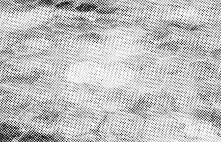 Subtle halftone vector texture overlay. Monochrome abstract splattered background of pavement