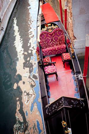 Dettagli tipici della gondola - Venezia Italy