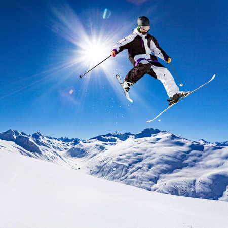 freerider in verse sneeuw