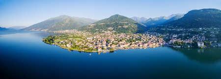 Gravedona - Lake Como - Italy - Aerial View