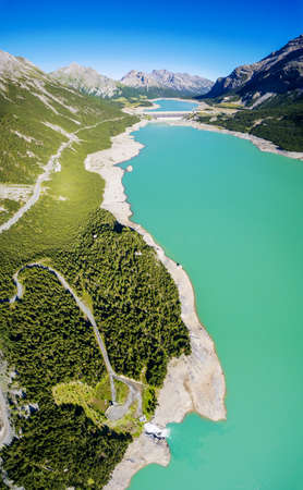 Dams of Cancano and San Giacomo - Valtellina (IT)