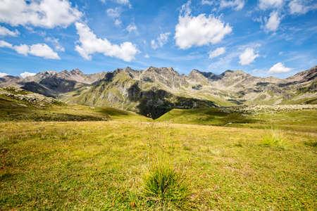 Grosina valley, Malghera, Valtellina (IT) Archivio Fotografico