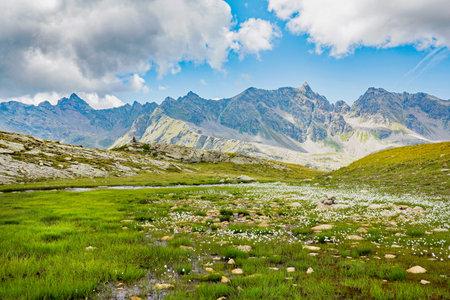 Grosina valley, Malghera, Valtellina (IT) Reklamní fotografie