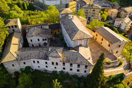 Sondrio, Valtellina, Italy, Masegra Castle
