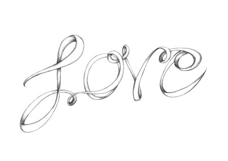 Illustration of a Lettering Love