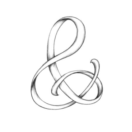 Illustration of an ampersand