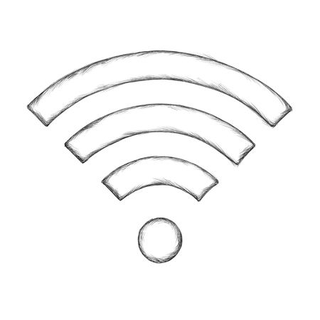 Illustration of a Wireless symbol