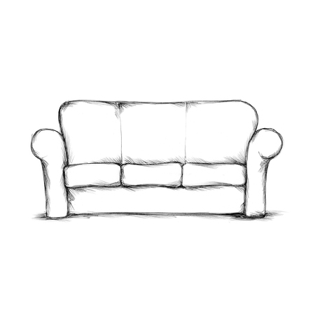 Illustration of a simple sofa
