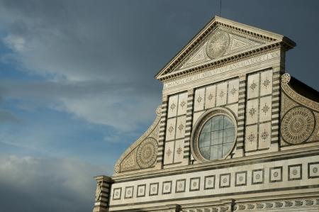 Detail of Basilica Santa Maria Novella - Florence photo