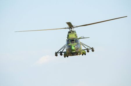 military helicopter: military helicopter Stock Photo