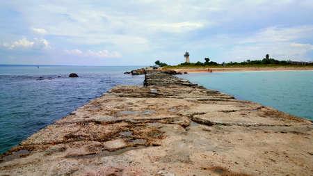 Pierce and incredibly beautiful seascape Stock Photo
