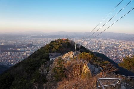 overlook: Overlook of Daegu, South Korea