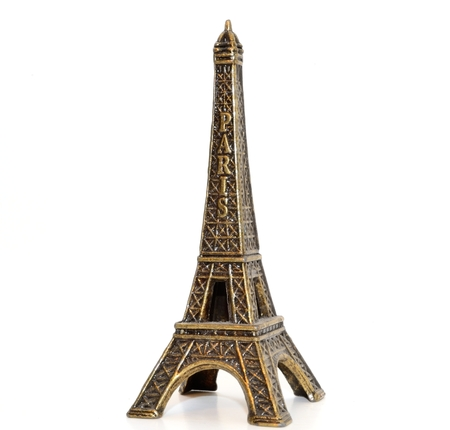 Eiffel Tower Toy Close-Up photo