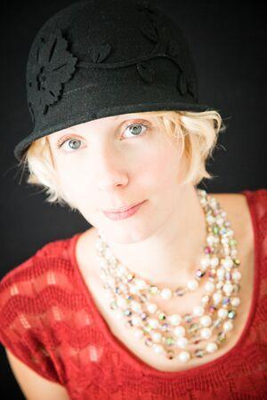 Beautiful lady portrait photo