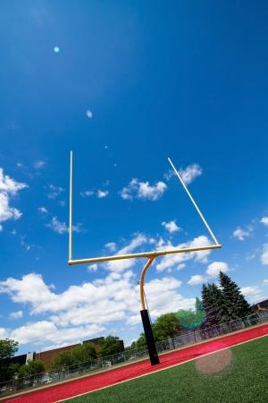 football goal post: Football goal post
