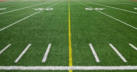 american football field: Football field