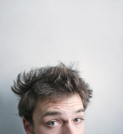 messy hair: Sooooo tired this morning