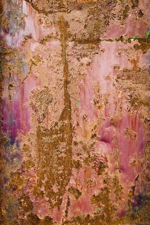 oxidado: Incre�ble textura de metal oxidado
