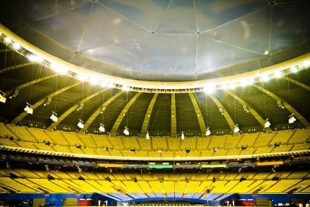 gradas estadio: Estadio de Béisbol Vacío