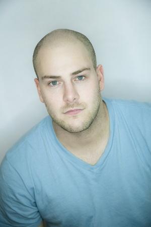 shaved head: Beauty portrait Stock Photo