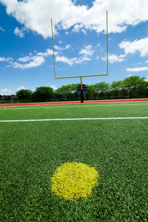 american football field: Football extra point