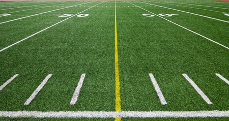Football field photo