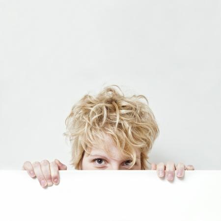 bedhead: Cute Blonde Girl Looking At You !