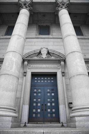 oratoria: St-Joseph Oratorio, puerta azul