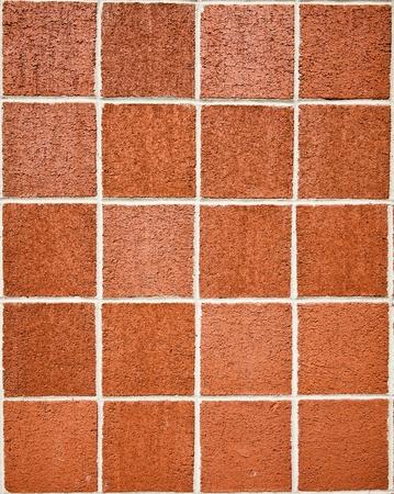 square: Square brick wall Stock Photo
